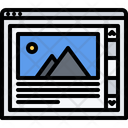 Scroll Website Page Icon