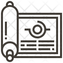 Scroll Papyrus Education Icon