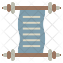 Scroll Law Justice Icon