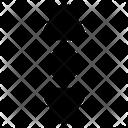 Scroll Move Vertical Icon