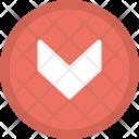Scroll Down Arrow Icon
