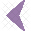 Left Sign Direction Icon