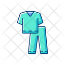 Scrub Suit Doctor Icon