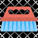 Scrubbing Washing Blue Icon