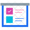 Scrum Board Board Tasklist Icon