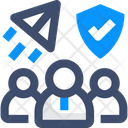 Scrum Value User Protection User Shield Icon