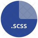 Scss Sass Css Icon