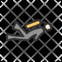 Scuba Diver Under Icon