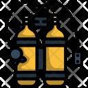 Scuba Deep Underwater Icon