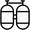 Scuba Cylinder Oxygen Icon