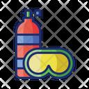 Scuba Dive Scuba Goggle Icon