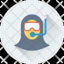 Scuba Diver Dive Icon