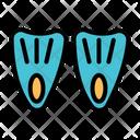 Scuba Fin Diving Fin Fin Icon