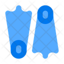 Diving Scuba Flippers Flippers Icon