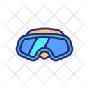 Scuba Glasses Icon