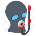 Scuba Mask Diving Mask Snorkel Icon