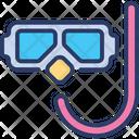 Scuba Mask Diving Icon