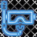 Goggles Mask Glasses Icon