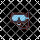 Scuba Mask Snorkel Scuba Icon