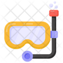 Scuba Mask Snorkelling Diving Mask Icon