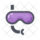 Scuba Mask Diving Mask Underwater Icon