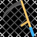 Scythe Hand Tool Icon