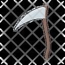Scythe Halloween Scythe Farming Tool Icon