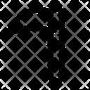 Sickle Scythe Crescent Icon