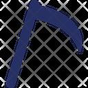 Boomerang Edge Tool Hatchet Icon