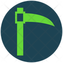 Halloween Scythe Monster Icon