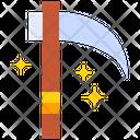 Scythe Axe Danger Icon