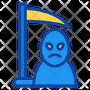 Scythe Halloween Grim Reaper Death Icon