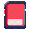 Sd Card Electronic Icon