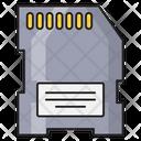 Sd Chip Memorycard Icon