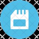 Sd Card Chip Icon