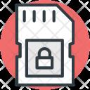 Sd Card Lock Icon