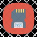 Card Sd Chip Icon