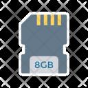 Chip Sd Card Icon