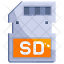 Sd Card Memory Card Storage Icon