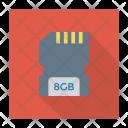 Sd Card Storage Icon
