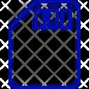 Sd Card Memory Card Storage Icon