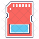 Memory Flash Memory Chip Memory Card Icon