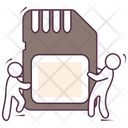 Sd Card Media Card Memory Card Icon