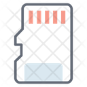 Memory Flash Memory Chip Memory Card Icon