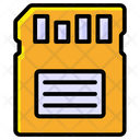 Memory Card Sd Card Microchip Icon