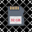 Gb Sd Card Icon