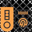 Usb Sd Card Data Icon