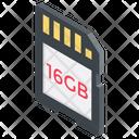 Sd Card Micro Sd Microchip Icon