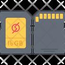 Sd Card Data Icon
