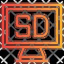Sd Tv Icon